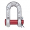 شگل u با پین گرد اشپیل دار CROSBY G215-S215 Round Pin Chain Shackles