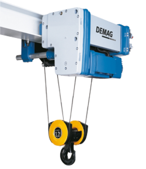 بالابر برقی سیم بکسلی DEMAG - Electric Rope Hoist-DR COM Rope Hoist
